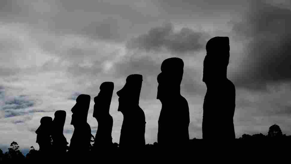 Stone statues of Easter Island