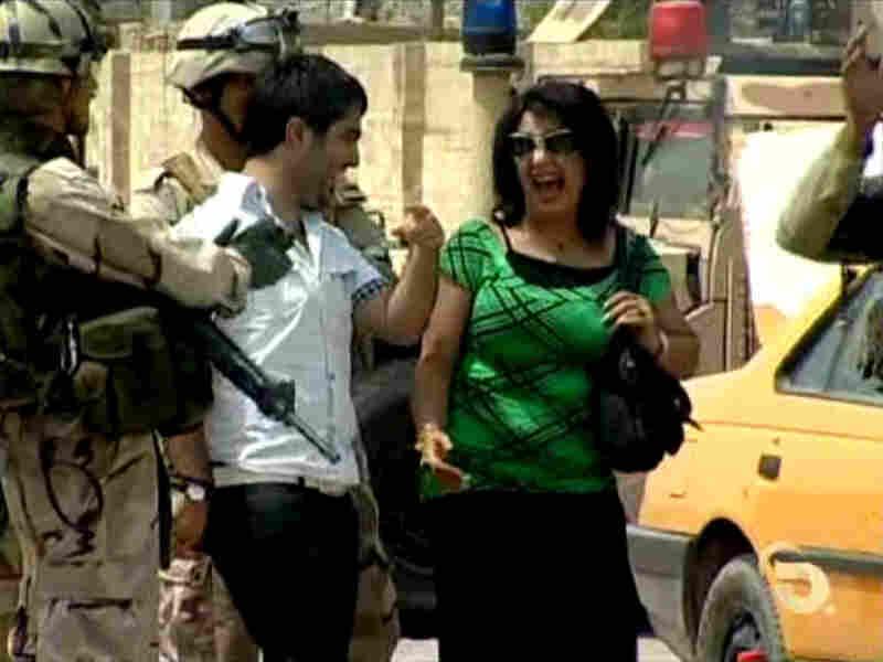 Iraq's candid camera strikes.