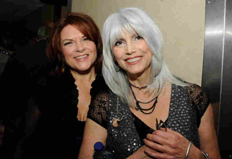 Rosanne Cash and Emmylou HarrisPhoto by Erika Goldring
