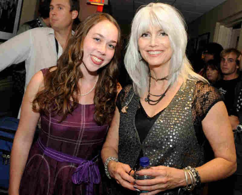 Sarah Jarosz and Emmylou HarrisPhoto by Erika Goldring