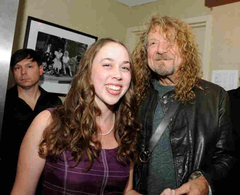 Sarah Jarosz and Robert PlantPhoto by Erika Goldring