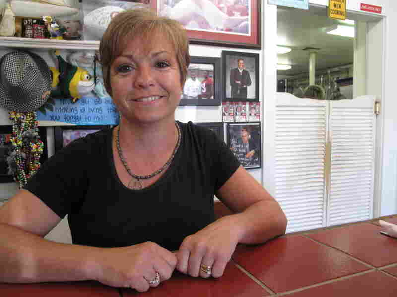 Rhonda Drummond, owner of Duck's Wine and Dine in Orange Beach, Ala.