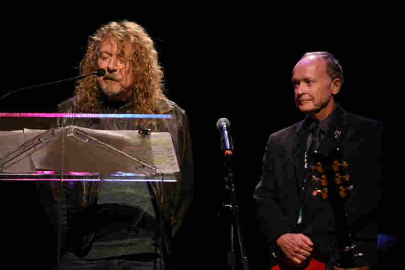 Robert Plant and Drew BerrymanPhoto by Ash Newell