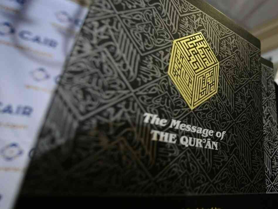 A copy of the Quran.