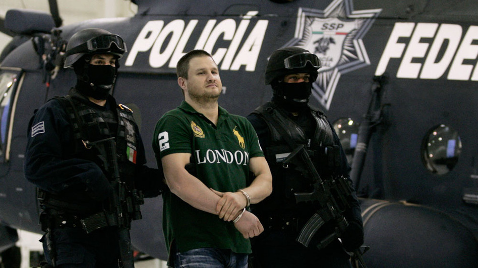 """Edgar """"La Barbie"""" Valdez Villarreal, a Texas-born drug smuggler and leader in the Beltran Leyva cartel, was captured Aug. 30 by Mexican authorities in a residential area near Mexico City."""