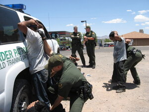 Image result for border patrol arrests