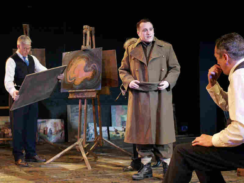A scene from 'The Pitmen Painters.'