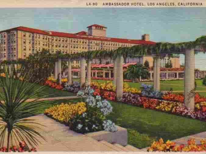 Postcard of the Ambassador in 1936.