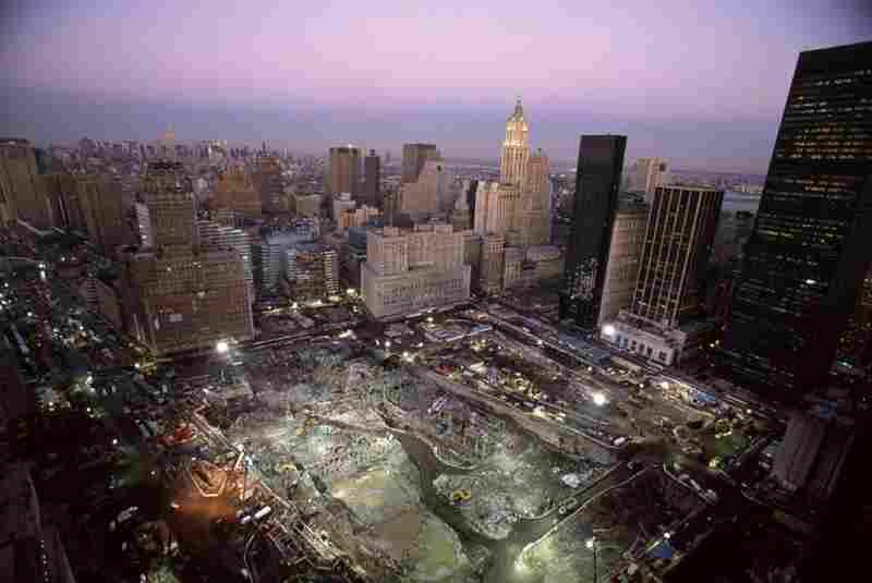 Views of Ground Zero, Tribeca, New York