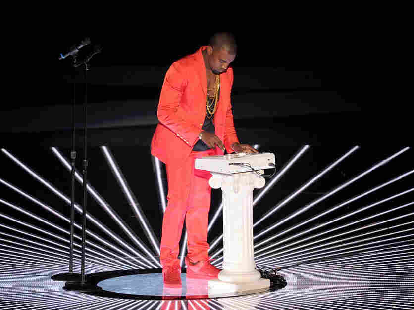 Kanye West at the 2010 MTV Video Music Awards