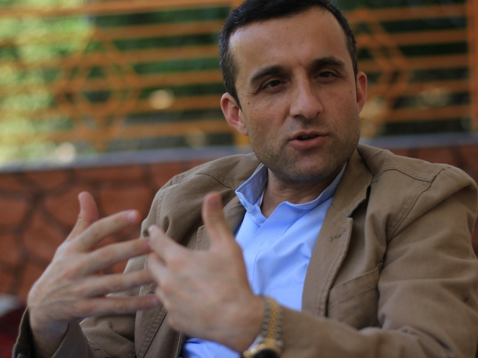 "Former head of Afghan intelligence Amrullah Saleh was fired earlier this year because of his opposition to the Karzai administration's efforts to negotiate with the Taliban. He says a Taliban-friendly government would mean Afghan rights are ""violated fundamentally."""