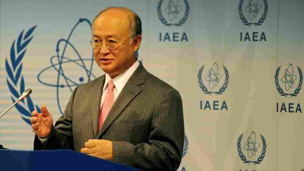Yukiya Amano, Director General of the IAEA.
