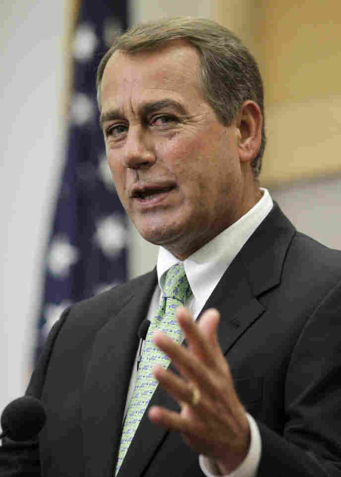 House Minority Leader John Boehner, R-Ohio.