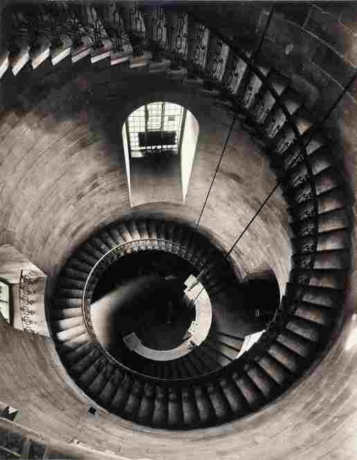 Spiral Staircase at St. Paul's Cathedral: Looking Down, 1943