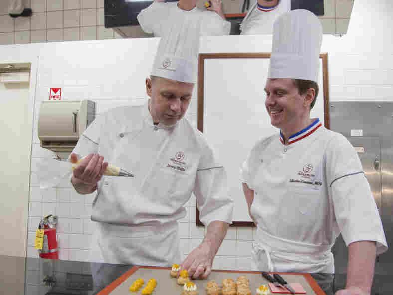 Chefs Jacquy Pfeiffer and Sebastien Canonne