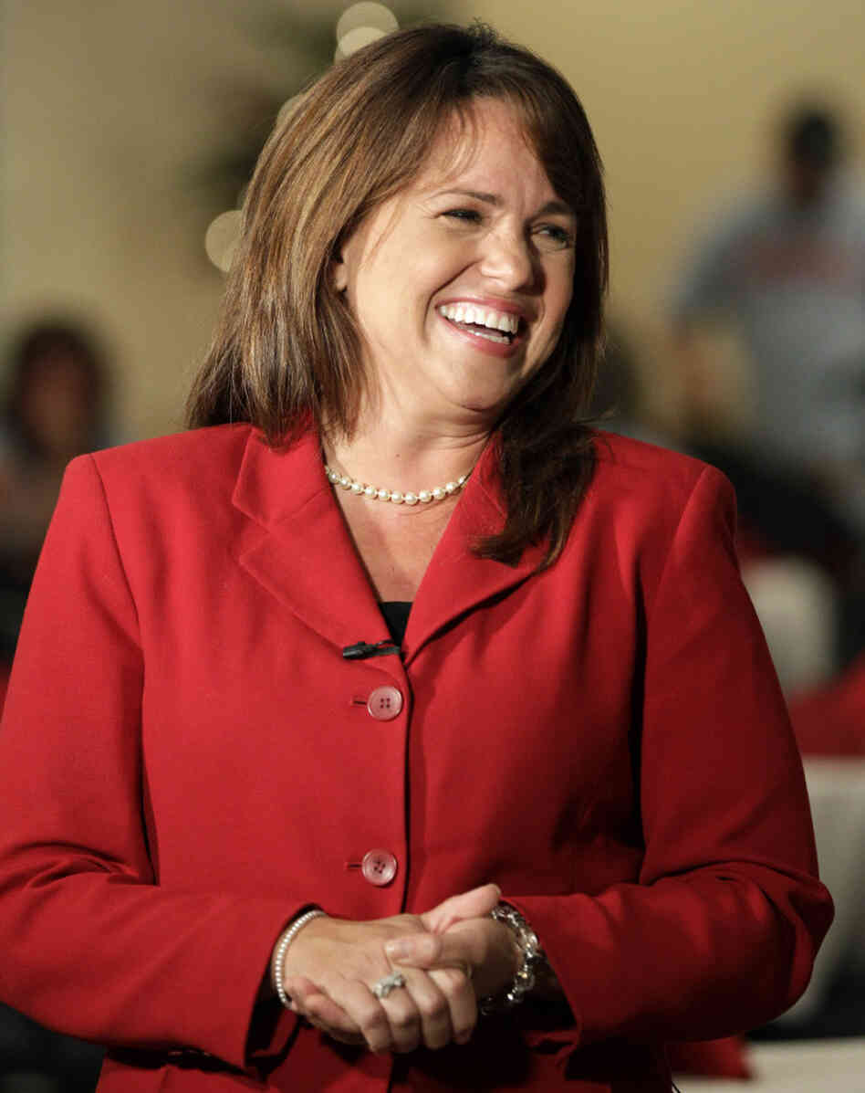 Christine O'Donnell, GOP Senate candidate in Delaware.