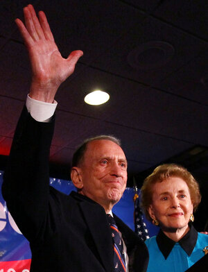 Sen. Arlen Specter (D-PA), who lost his Senate primary back in May.