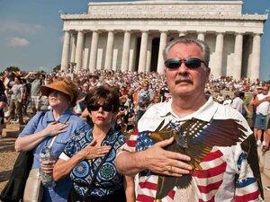 Tea Party rally in Washington, D.C., Aug. 28.