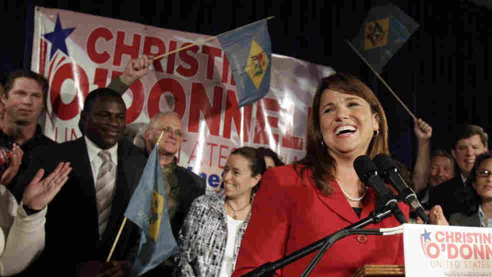 Christine O'Donnell, new GOP nominee for Senate in Delaware. Sept. 14, 2010.