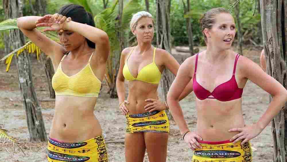 Brenda, Kelly and Alina of Survivor: Nicaragua