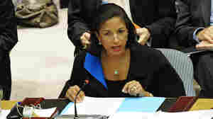 US Ambassador to the UN Susan Rice talks