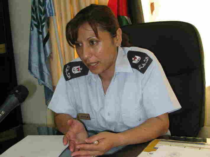 Abir Abu Farah, chief of Palestinian police in Beit Sahour