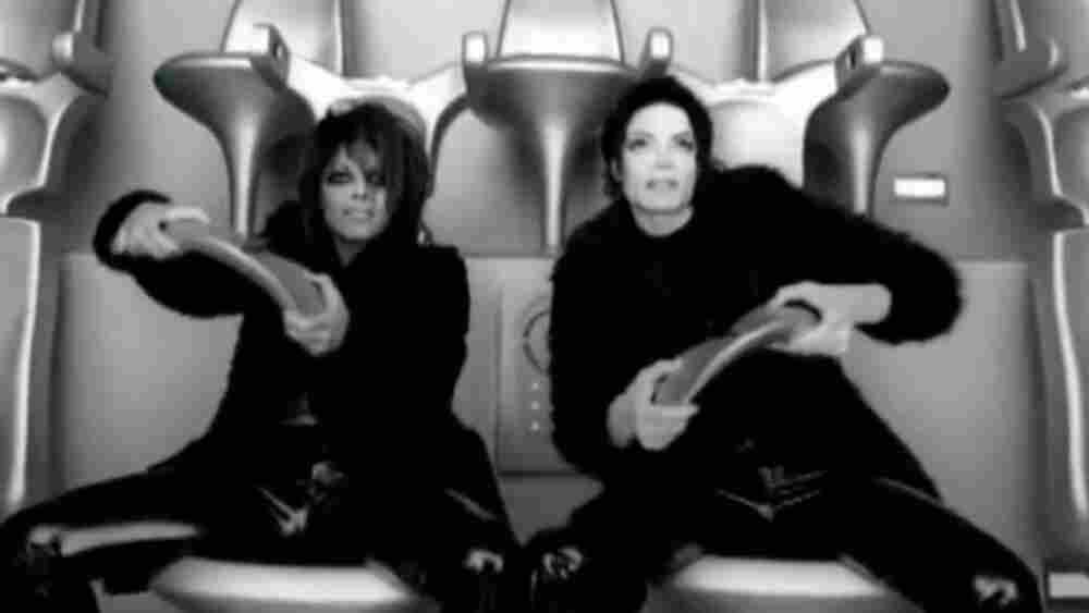 Michael and Janet Jackson in 'Scream'