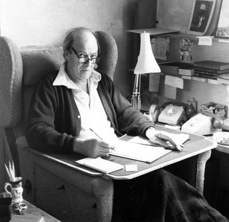 what job did roald dahl have after school