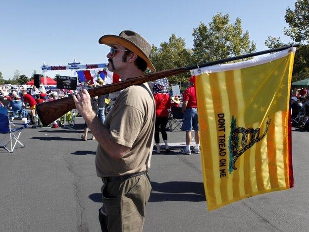 Tea Party rifleman