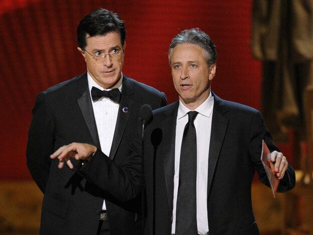 Stephen Colbert, Jon Stewart