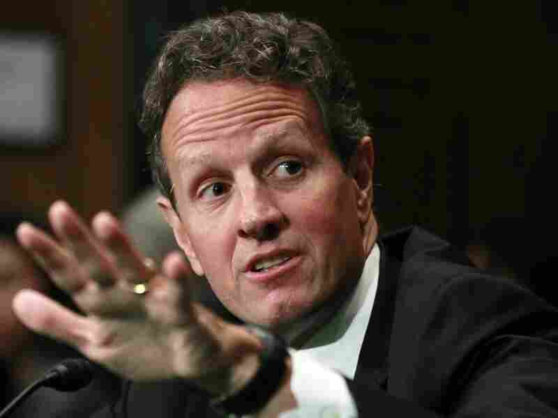 Treasury Secretary Timothy Geithner appears before the Senate Banking Committee.