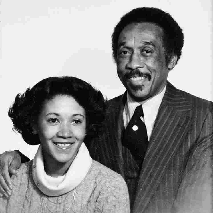 Michele Norris and her father, Belvin Norris Jr.