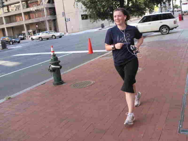 Tamara Keith on the run