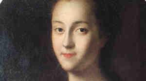 Louis Caravaque's portrait of Catherine the Great.