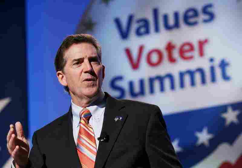 Jim DeMint addresses the Values Voter Summit in September.
