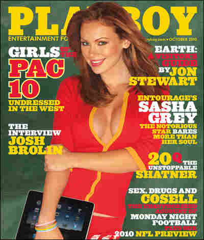 The cover of Playboy. Playboy.com