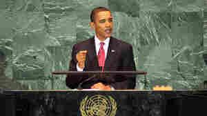 President Obama at the U.N. General Assembly, Sept. 2009