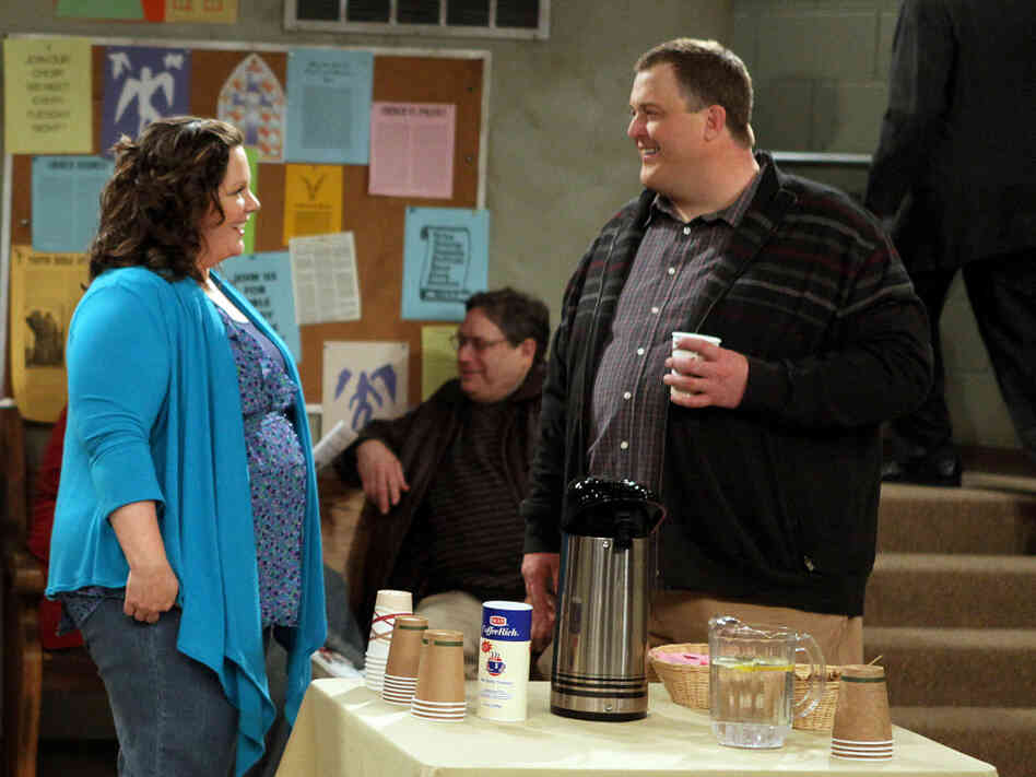 Melissa McCarthy and Billy Gardell of Mike & Molly
