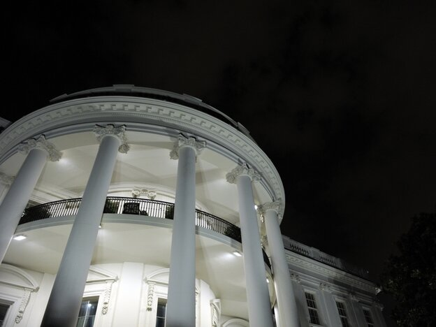 White House Truman Balcony