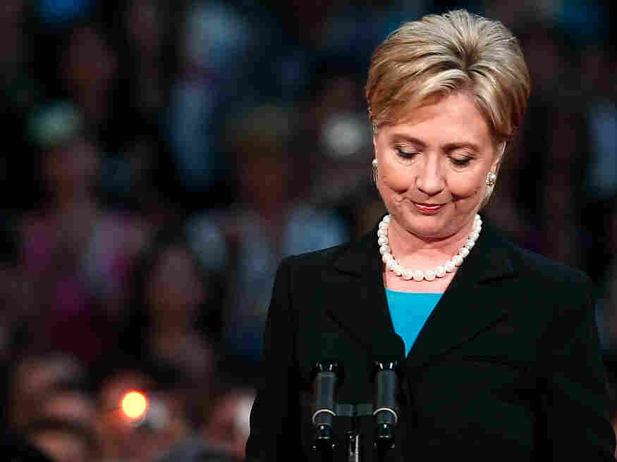 Hillary Clinton concedes the Democratic presidential nomination; June 7, 2008.