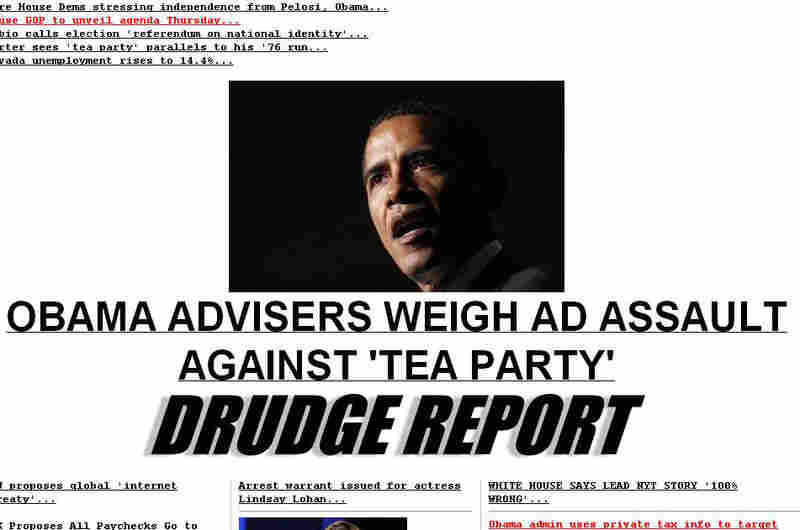 Drudge home page
