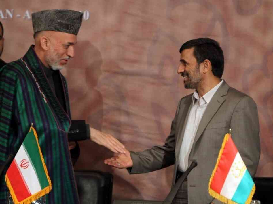 Karzai and Ahmadinejad
