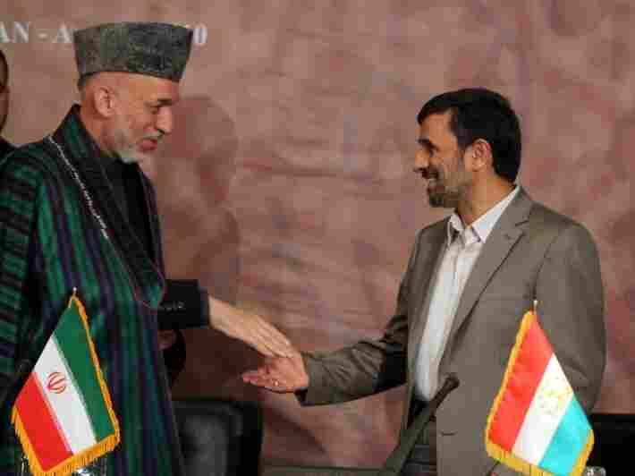 Karzai and Ahmadinejad
