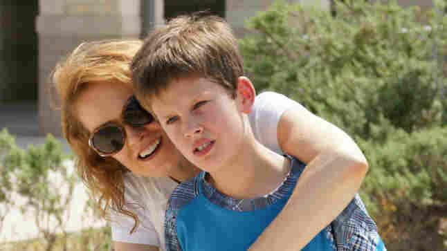Margret Dagmar Ericsdottir and her son, Keli