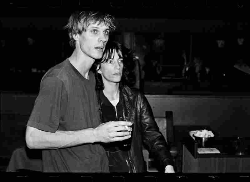 Patti Smith with Tom Verlaine, circa 1970