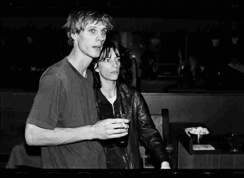 Patti Smith with Tom Verlaine, circa 1970