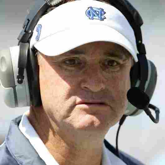 Coach Butch Davis of the North Carolina Tar Heels