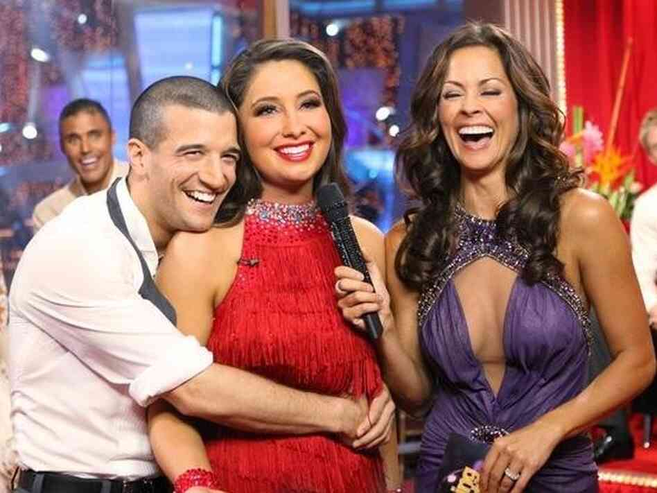 Mark Ballas, Bristol Palin, Brooke Burke