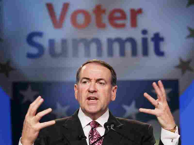 Mike Huckabee at the Value Voters Summit