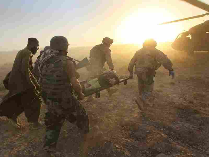 A US task force in Afghanistan